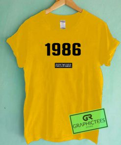 1986 Graphic Tee shirts