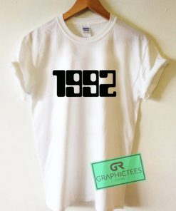1992 Absolutely Fabulous Graphic Tee shirts