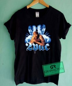 2 Pac Shakur Graphic Tee shirts