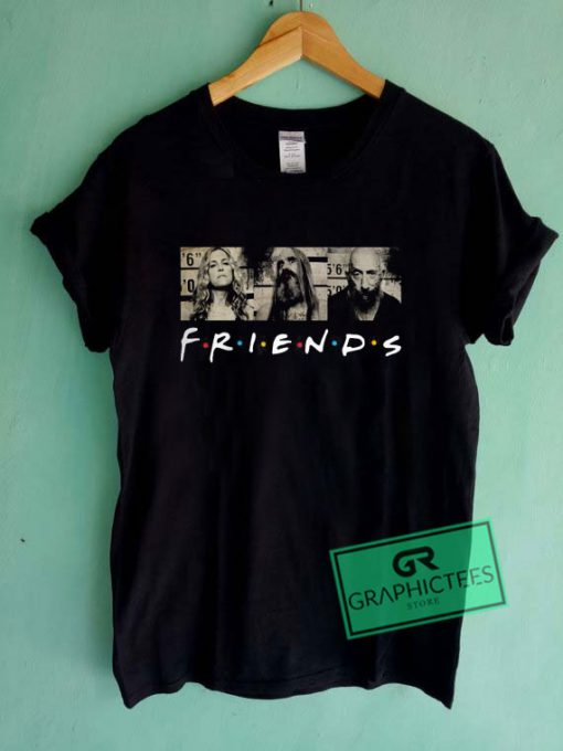 3 From Hell Friends Graphic Tee shirts
