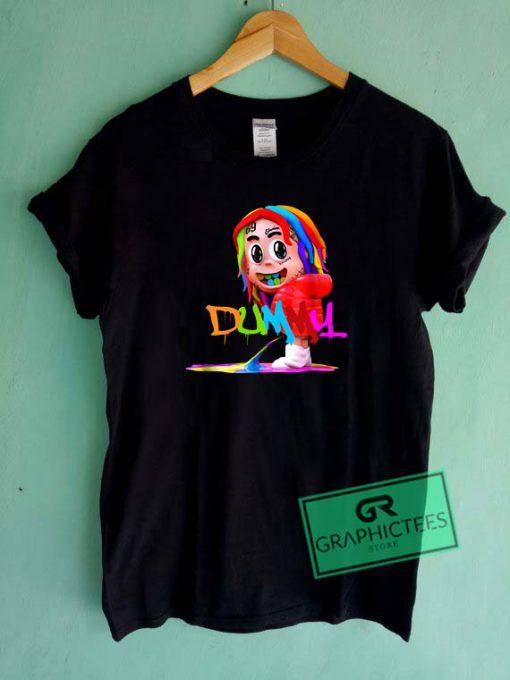 6ix9ine Dummy Boy Graphic Tee shirts