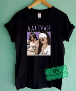 Aaliyah Graphic Tee shirts