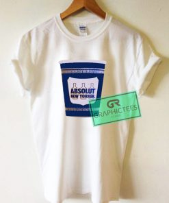 Absolut New Yorker Graphic Tee shirts