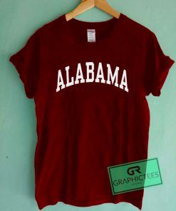 Alabama Graphic Tee shirts