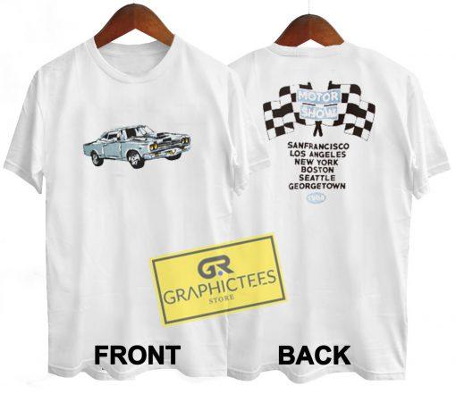 Aleena Motor Show 1984 Graphic Tee shirts