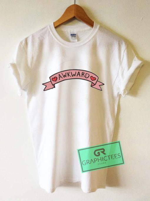 Awkward Graphic Tee Shirts