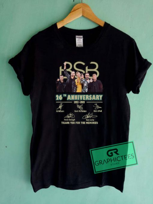BSB 26th Anniversary 1993 2019 Graphic Tee Shirts