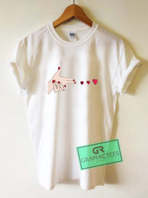 Bang Bang Hearts Graphic Tee Shirts