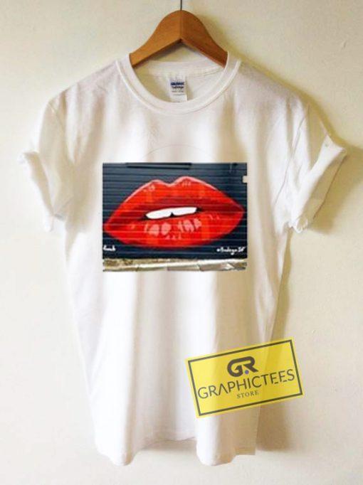 Bodega SF Lips Graphic Tees Shirts