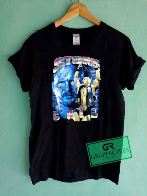 Bootleg Stone Cold Steve Austin Vintage Graphic Tee Shirts