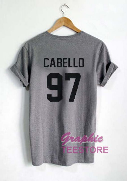 Cabello 97 Jersey Back Graphic Tee Shirts