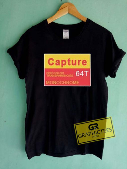 Capture For Color Transparencies Graphic Tees Shirts