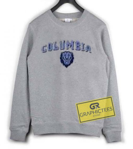 Columbia Logo sweatshirt graphic tees