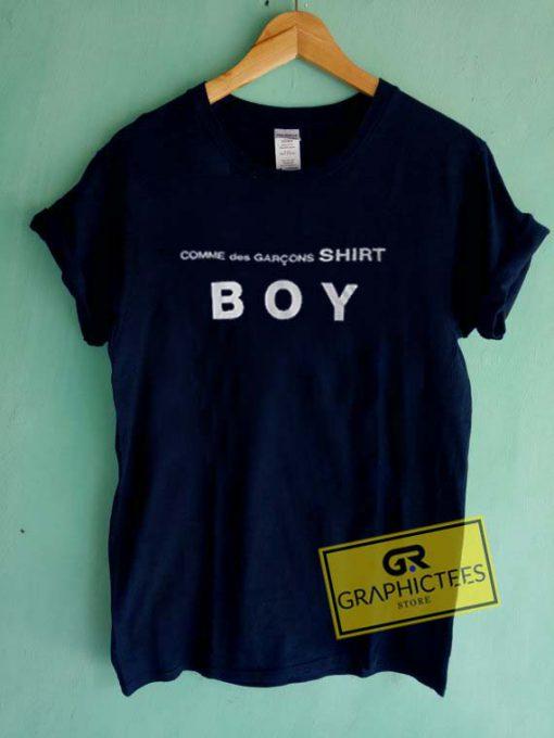 Comme Des Garcons Shirt BOY Graphic Tees Shirts