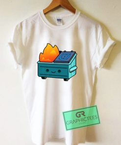 Democratic Dumpster Fire Graphic Tee Shirts
