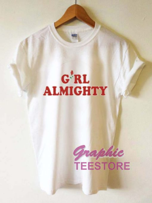 Girl Almighty Roses Graphic Tee Shirts