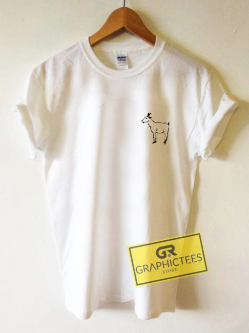 Goat Graphic Tees Shirts