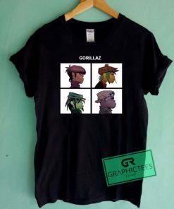 Gorillaz Graphic Tee Shirts