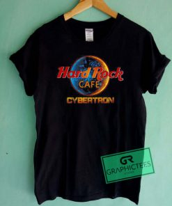 Hard Rock Cafe Cybertron Graphic Tee Shirts