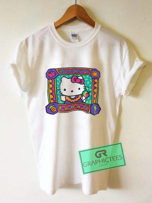 Hello Kitty Hawaii Graphic Tee Shirts