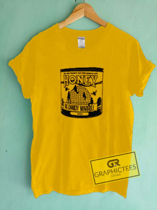 Honey The Dandy Warhols Graphic Tees Shirts