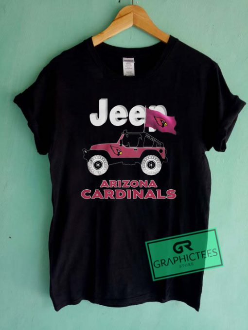 Jeep Arizona cardinals Graphic Tee Shirts