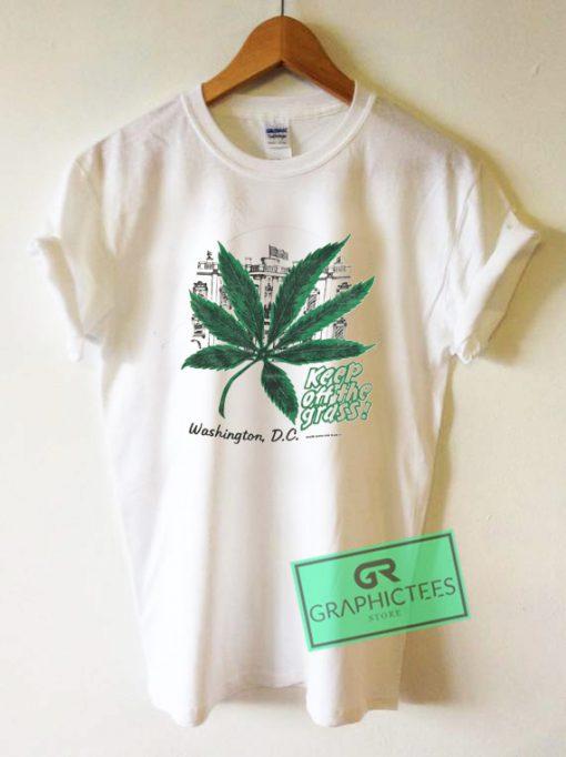 Keep Of The Grass Washington DC Graphic Tee Shirts