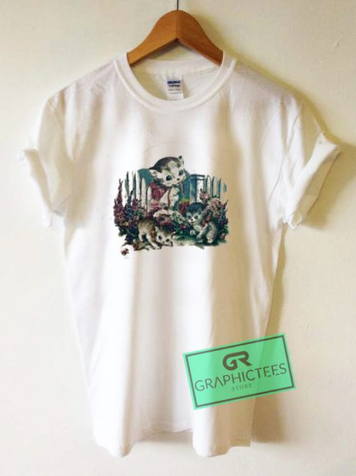 Kitten Graphic Tee Shirts