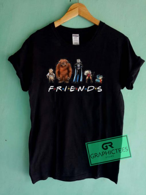 Labyrinth characters friends Graphic Tee Shirts