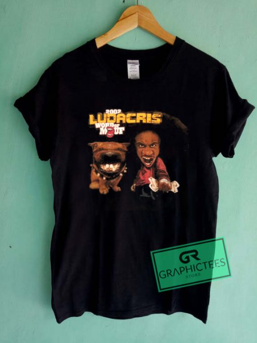 Ludacris Word Of Mouf tour Hiphop rap Graphic Tee Shirts