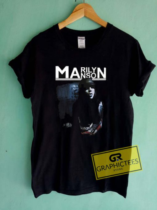 Marilyn Manson Cover Graphic Tees Shirts