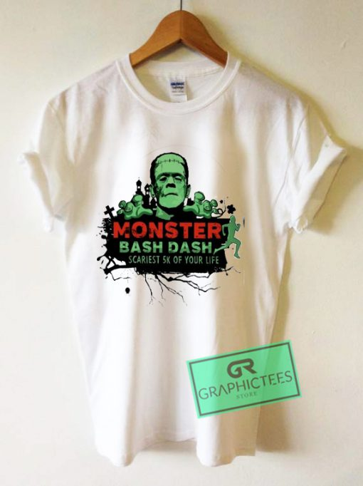 Monster bash dash scariest 5k of your life Graphic Tee Shirts