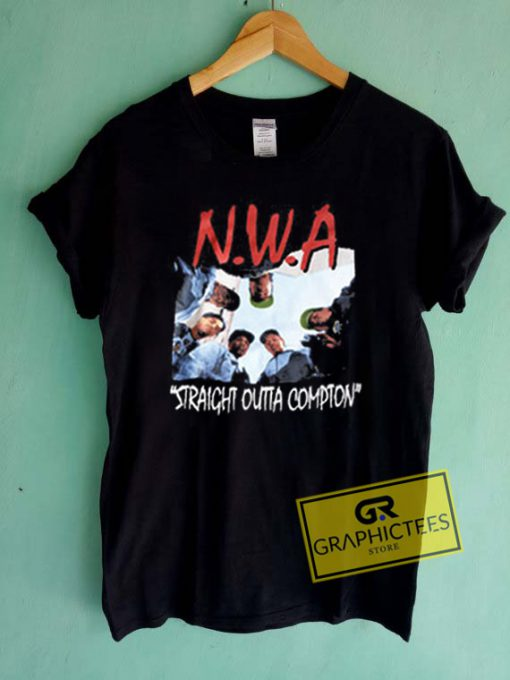 NWA Straight Outta Compton Graphic Tees Shirts