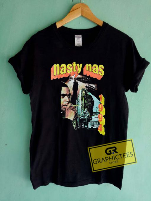 Nasty Nas 1994 Graphic Tees Shirts