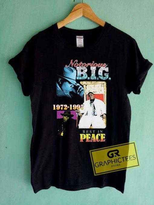Notorious BIG Memorian Graphic Tees Shirts