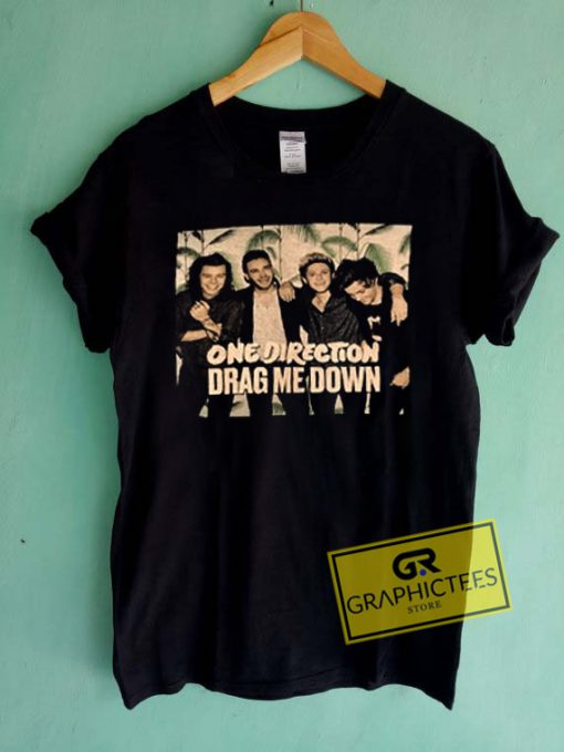 One Direction Drag Me Down Graphic Tees Shirts