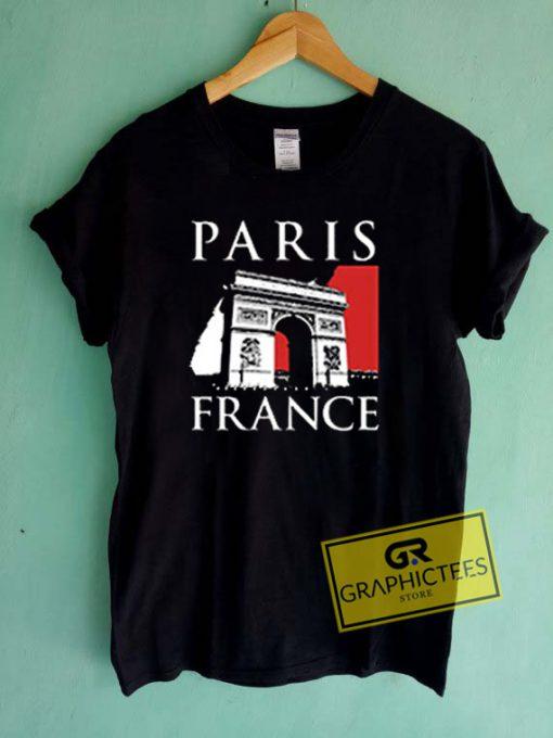 Paris France Graphic Tees Shirts