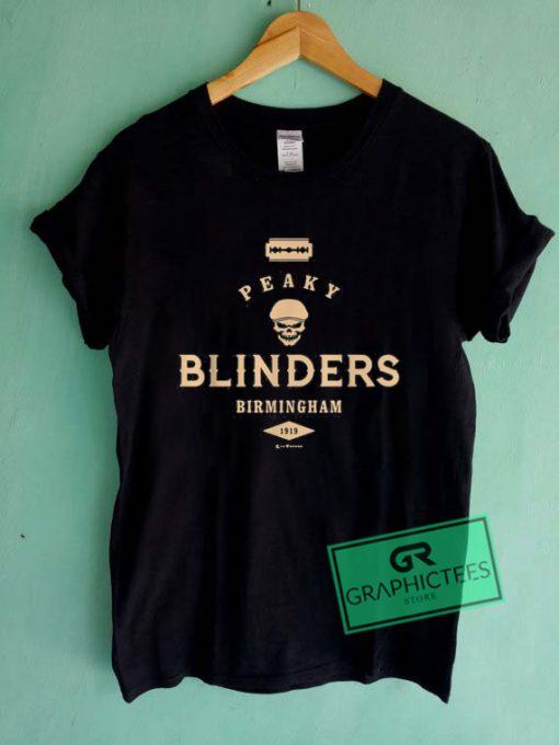 Peaky Blinders Birmingham 1919 Graphic Tee Shirts