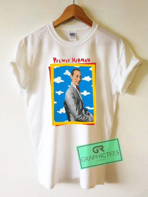 Pee Wee Herman Graphic Tee Shirts