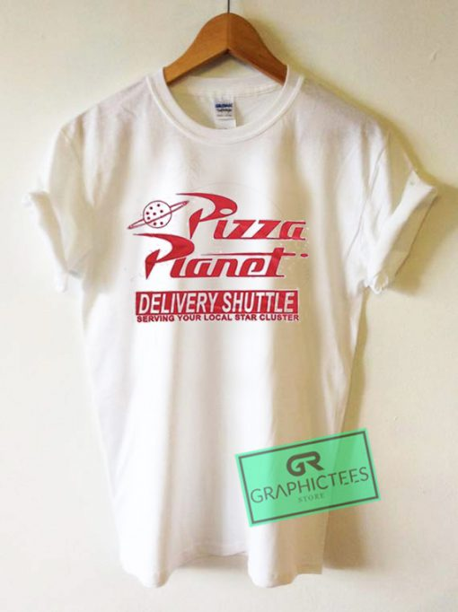 Pizza Planet Delivery Shuttle Graphic Tee Shirts