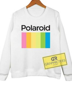 Polaroid sweatshirt graphic tees