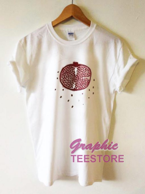 Pomegranate Graphic Tee Shirts