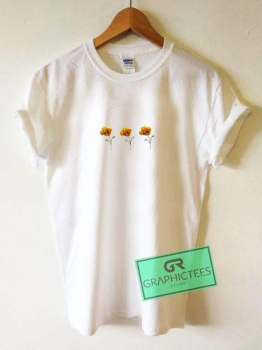 Poppy Printed Graphic Tee Shirts