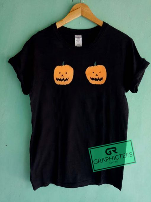 Pumpkin Graphic Tee Shirts