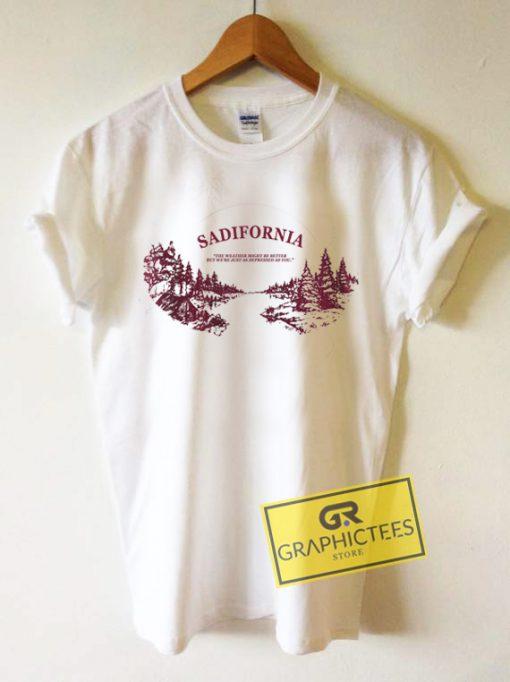 Sadifornia Graphic Tees Shirts