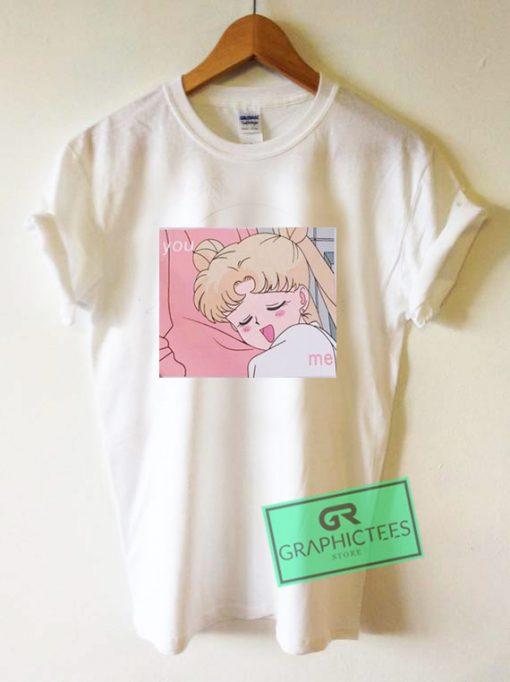 Sailor Moon You And Me Graphic Tee Shirts