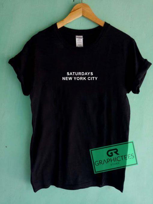 Saturdays New york City Graphic Tee Shirts
