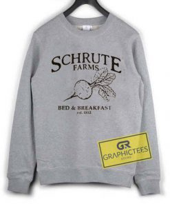 Schrute Farms Bed And Breakfast Est 1812 sweatshirt graphic tees