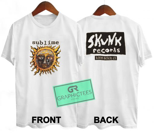 Sublime Vintage Graphic Tee Shirts