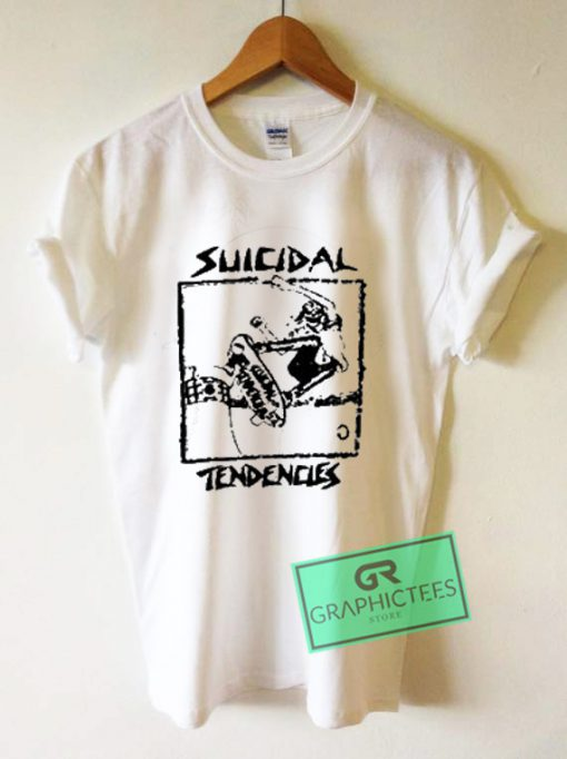 Suicidal Tendencles Graphic Tee Shirts